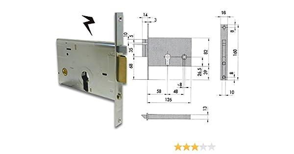 Cisa 11560-10 Serratura Elettrica per Cancello 14010, Entrata Destra, 60 mm: Amazon.es: Bricolaje y herramientas