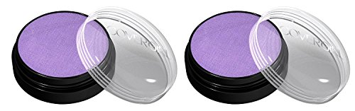 CoverGirl Flamed Out Shadow Pot, Blazing Purple 340 - Pack of 2