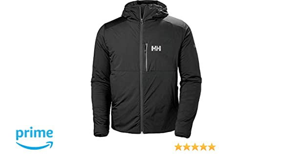 Amazon.com: Helly Hansen Mens Odin Stretch Insulated Outdoor Hiking Jacket, Black, Small: Clothing