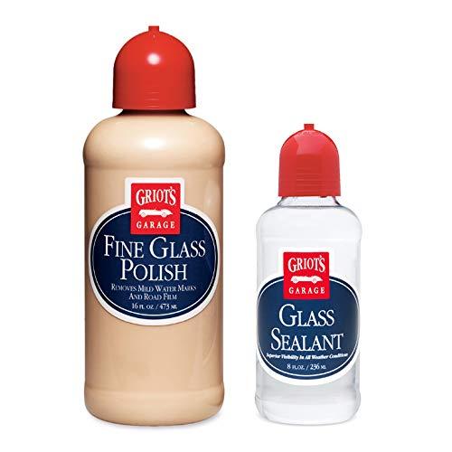 Fine Polish - Griot's Garage Fine Glass Polish and Sealant Combo