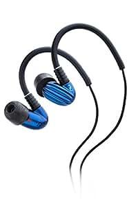 NuForce Primo-8 - Auriculares in-ear, negro y azul