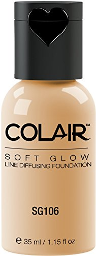 Dinair Airbrush Makeup Foundation Vanilla Sg106 Soft Glow Matte Finish Size 1.15 oz.