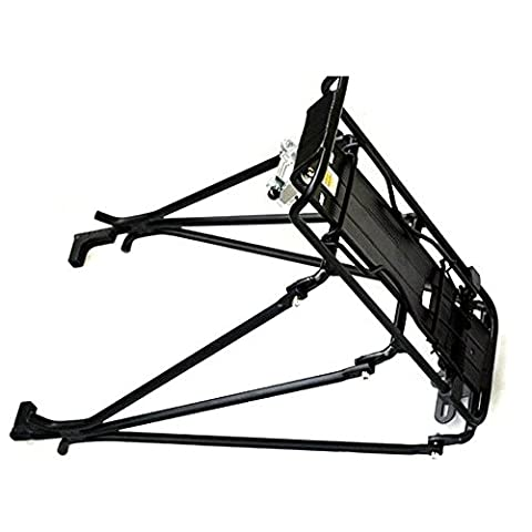 SODIAL(R)Cycling MTB Aluminum Alloy Bicycle Carrier Rear Luggage Rack Shelf Bracket for Disc Brake/V-brake Bike (Bike Rack Disc Brake)