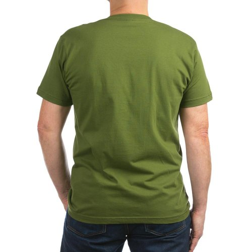 CafePress Ace Ventura Ready to G Men's Fitted T-Shirt dark - L Olive