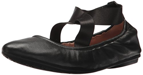 Taryn Rose Womens Edina Ballet Flat Black