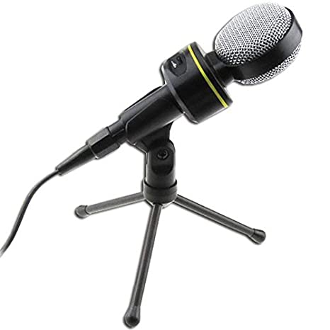 KAXIDY Micrófono Condensador profesional para PC / Ordenador Portátil para Skype Juego Conferencias Web VoIP Video Chat: Amazon.es: Electrónica