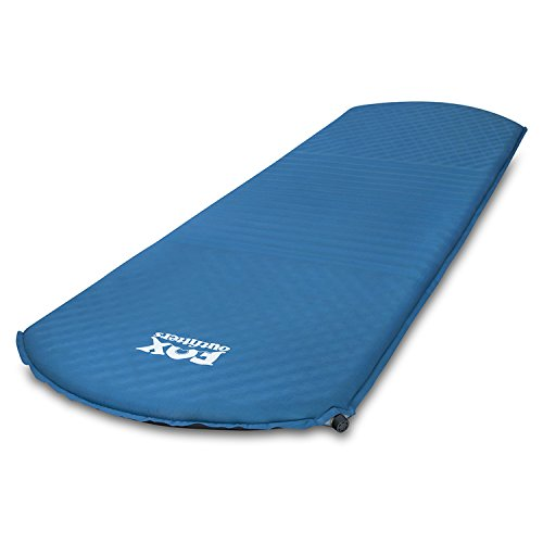Fox Outfitters Comfort Series Self Inflating Camp Pad – Perfect Foam Sleeping Pads for Camping, Backpacking, Hiking, Hammocks, Tents