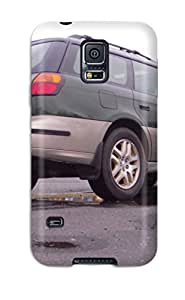 Unique Design Galaxy S5 Durable Tpu Case Cover Subaru Outbacks 18