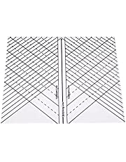 Arc Quilting Straight Ruler for Beginners,Curved Quilting Ruler Acrylic Ruler Sewing Ruler Template