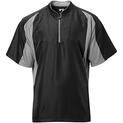 Wire2wire Mens Performance Short Sleeve Cage Jacket Black/Grey XL