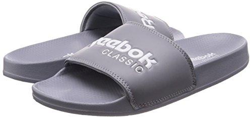 Gris Piscine 000 cool Shadow Classic Chaussures Et De Reebok Slide Pour Adultes Plage White q1wA4Cz