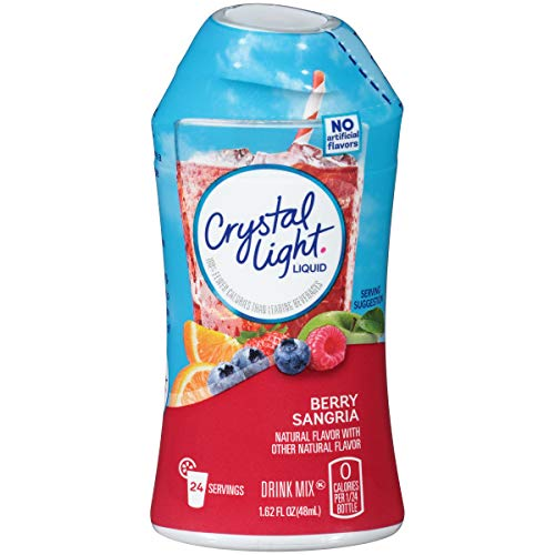 Crystal Light Berry Sangria Liquid Drink Mix (1.62 oz Bottle)