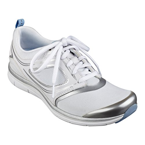 Easy Spirit Zapatillas Para Caminar Estelar Para Mujer, Blanco / Multicolor