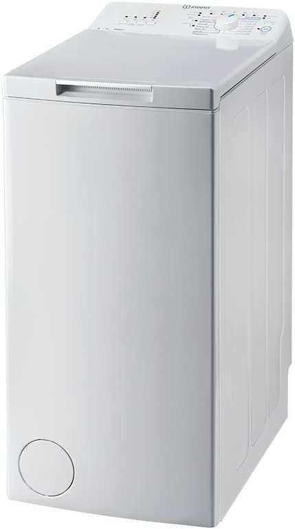 Indesit BTW A71253 Lavadora Carga Superior 7Kg A+++ Blanca