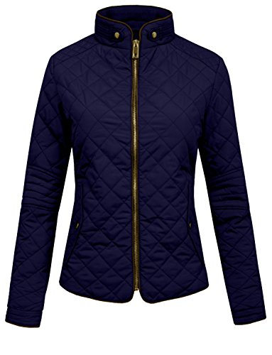 Quilted Car Coat - 4
