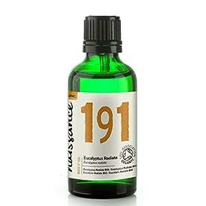 Naissance Aceite Esencial de Eucalipto Radiata BIO 50ml - 100% puro, certificado ecológico, vegano y no OGM