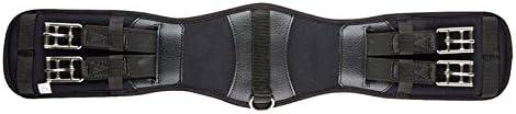Kincade Memory Foam Dressage Girth、ブラック、サイズ30