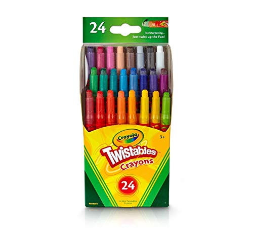 - Crayola Mini Twistables Crayons, Pack of 24