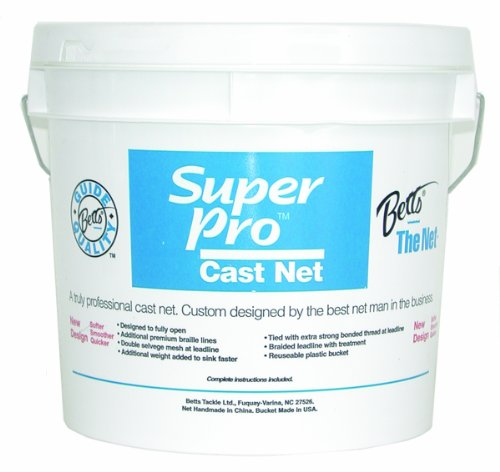 Betts Super Pro 8-Foot Mono Cast Net with 1/2-Inch Mesh