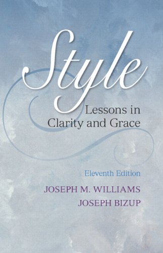 Style: Lessons in Clarity and Grace