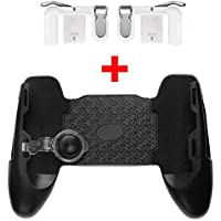 PickTheDeal Mobile Game Controller/Pads Joint, Yard 1 Pair Sensitive Triggers for PUBG/Knives Out/Rules of Survival L1R1 Joysticks Gamepad (Remote Metal)