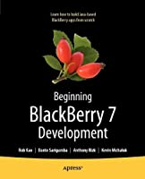 Beginning BlackBerry 7 Development Front Cover