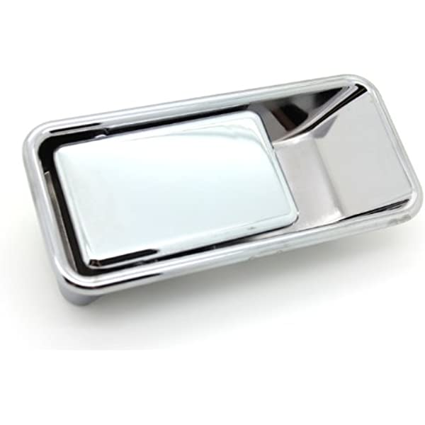 fits Jeep Wrangler Half Door Only Outside Outer Exterior Door Handle Left Chrome
