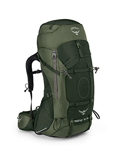 Osprey Packs Aether Ag 70 Backpacking Pack, Outback Orange, Small