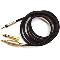 NewFantasia Replacement upgrade Cable For Audio Technica ATH-M50x / ATH-M40x / ATH-M70x Headphones 1.2meters/4feet