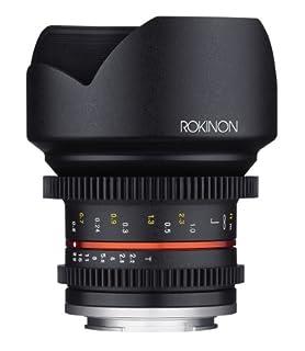 Rokinon Cine CV12M-MFT 12mm T2.2 Cine Fixed Lens for Olympus/Panasonic Micro 4/3 Cameras (B00K3T3PXW) | Amazon Products