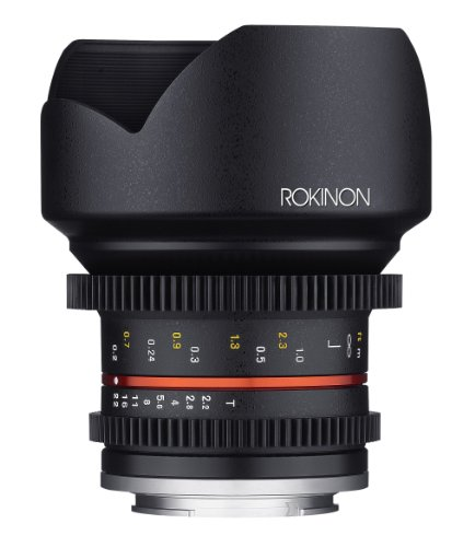 Rokinon Cine CV12M-MFT 12mm T2.2 Cine Fixed Lens for Olympus/Panasonic Micro 4/3 ()