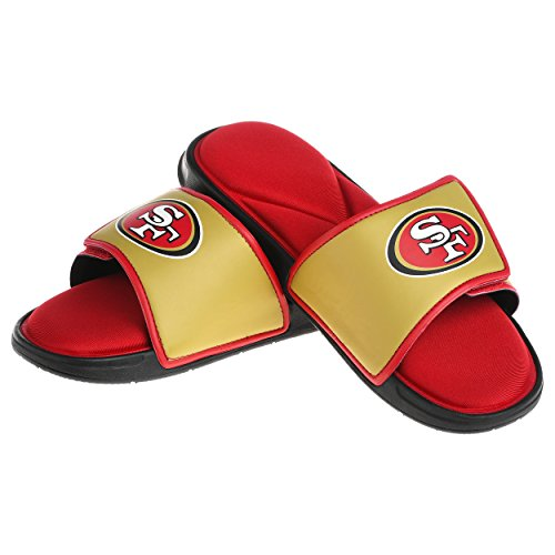 San Francisco 49ers NFL Mens Foam Sport Slide - M