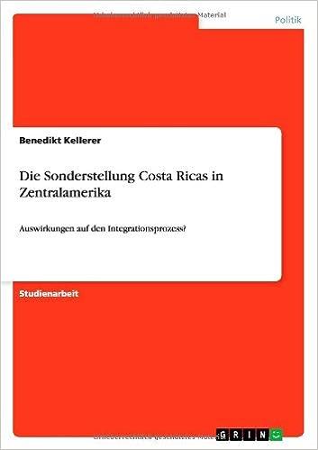 Die Sonderstellung Costa Ricas in Zentralamerika