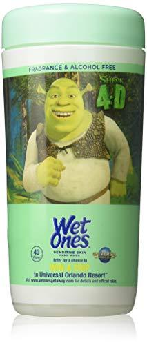 Wet Ones Sensitive Skin Hand Wipes (Pack Of 4)