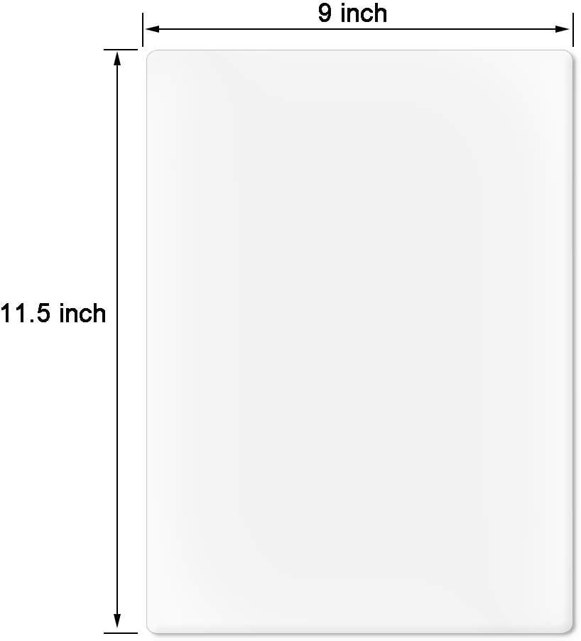 100 Pack PAPRMA Premium Thermal Laminating Pouches 9 x 11.5//Letter Size//3 mil