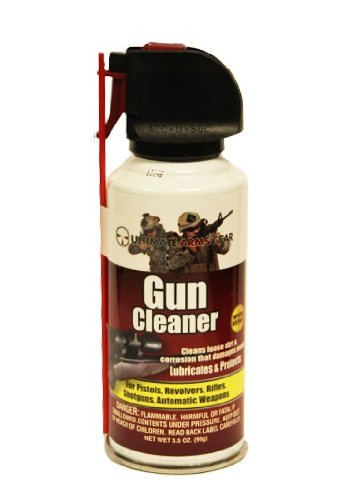 """Ultimate Arms Gear Gunsmith & Armorer's Cleaning Work Tool Bench Gun Mat For S&W Smith & Wesson M&P Pistol Handgun + Pro Gun Cleaner Lubricant Protector Jet Action Spray Field Can Cleans Loose Dirt, Rust & Corrosion Parts + Gun Care and Reel Silicone Lubricated Cloth 12"""" x 14"""" + 4 pc Carbon Steel Roll Pin Starters Punch Center Tool Takedown Disassembly Set Kit w/ PVC Holding Pouch Sizes: 1/16"""", 3/32"""", 1/8"""", 5/32"""""""