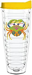 product image for Smile Drinkware USA-CARIBBEAN CRAB 26oz Tritan Insulated Tumbler With Lid and Straw