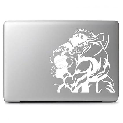 Amazon com: Street Fighter Ryu Hadouken Vinyl Sticker, Die