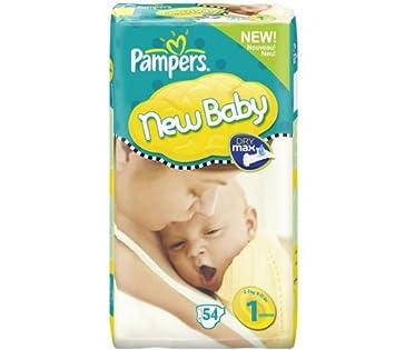 PAMPERS Pañales New Baby Talla 1 newborn (2-5 kg) - Gigante 1