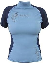 Women's Short Sleeve Burnout Rashguard