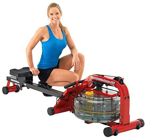 Rowing machine awesome. First Degree Fitness Fluid Rower - AR Newport