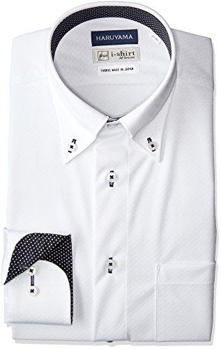[ハルヤマ] i-shirt 完全ノーアイロン ストレッチ 速乾 長袖 アイシャツ ワイシャツ メンズ M151190014