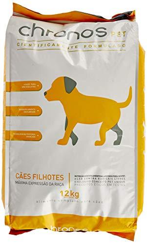 Ração Chronos Pet Super Premium para Cães Filhotes de Raças Pequenas Sabor Frango 12kg