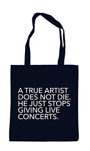 A True Artist Bolsa Negro