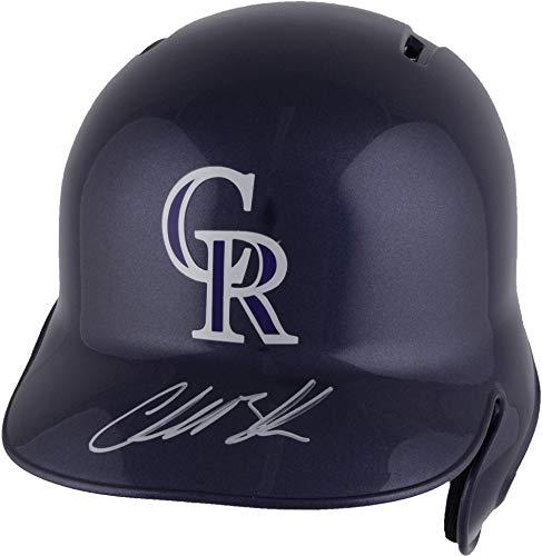 Charlie Blackmon Colorado Rockies Autographed Replica Batting Helmet - Fanatics Authentic Certified - Autographed MLB ()