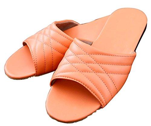 Pantofole Da Donna In Blub In Morbida Lana Da Donna Estate Arancione