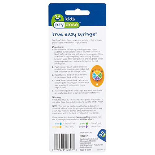 Acu-Life True Easy Syringe (Pack of 3) by Ezy Dose Kids (Image #3)