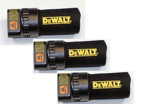 Dewalt D26450/D26451/D26453 Replacement Sander Dust Bag 3-Pack # 608354-00SV