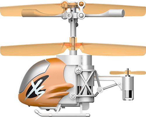 SilverLit Nano Falcon XS – Remote Control Helicopter, Orange