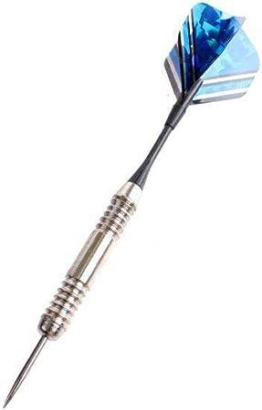 Master Darts Juego de Dardos en Estuche 24 g Negro/Azul: Amazon.es: Deportes y aire libre